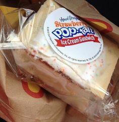 Pop-Tart Ice Cream Sandwich From Carl's Jr. Glorious!