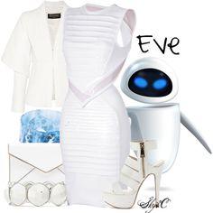 """Eve - Business - Disney Pixar's Wall-E"" by rubytyra on Polyvore"