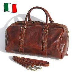 #brown #leather #weekender