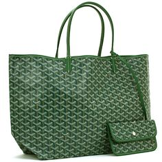 7bacf78e3cc Buya  Goyard Handbag St Louis GM Cabas Reversible Toile Verte  Cuir Handbag  in Handbags, Women s Clothing, Clothing, Shoes   Accessories, MAX PAWN