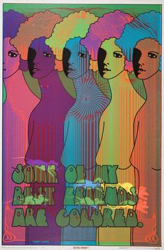 """""""Some Of My Best Friends Are Colored"""" poster art by Wilfried Podriech"""