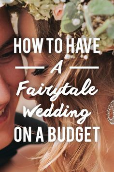 Believe it or not, you don't need to spend a small fortune to make your big day perfect. There are plenty of ways to save money while still having a fairytale wedding.