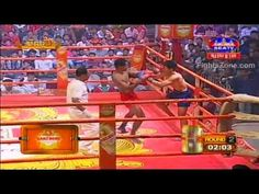 Kun Khmer, Chan Chamroeun Vs Anuwat, Khmer Vs Thai Boxing, 25 September ...
