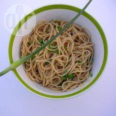Pasta mit Knoblauchblüten @ de.allrecipes.com