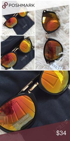 🍂🍁Jcrew perfect sunglasses 🍂🍁 Unisex Jcrew sunglasses 🍂super comfy and fun color 🍂🍁perfect for fall 🍂🍁😗 Accessories Glasses