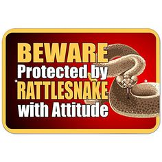 Plastic Sign Beware Protected by Rattlesnake with Attitud... http://www.amazon.com/dp/B01BL4K990/ref=cm_sw_r_pi_dp_9Nwixb19XC2YY