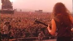 Metallica - Enter Sandman Live Moscow 1991 HD People who sold hair products like shampoo etc.. prob loved the hard rock era. #epicsales