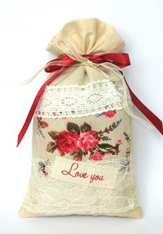 "Lavender sachet ""Love you"""