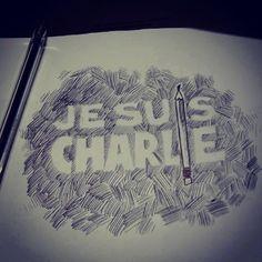 dem looky in tribute to #CharlieHebdo because #WeAreCharlie #NousSommesCharlie & #JeSuisCharlie #IamCharlie