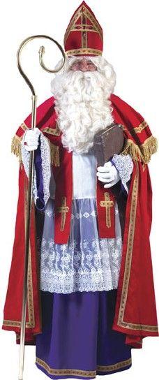 Déguisement pape Saint Nicolas luxe homme : Deguise-toi, achat de Déguisements adultes
