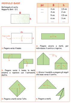 modulo origami 3d