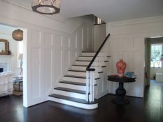 6 Fabulous Tips: Square Wainscoting Bathroom easy wainscoting dining room.Wainscoting Entryway Foyers wainscoting how to paint.Gray Wainscoting The Doors. Beadboard Wainscoting, Wainscoting Nursery, Dining Room Wainscoting, Wainscoting Panels, Wainscoting Ideas, Basement Wainscoting, Girls Bedroom, Bedrooms, Master Bedroom