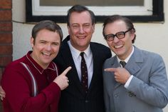 Directed by Dan Zeff. With Stephen Tompkinson, Mark Bonnar, Neil Maskell, Liz White. How Eddie Braben transformed Morecambe and Wise into the nation's most beloved entertainers. Bristol, Liz White, Morecambe, Me Tv, Dan, Entertaining, Film, Movies, Movie
