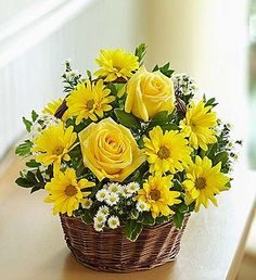 1800Flowers – Basket of Sunshine – Small