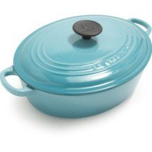 Lecreuset enamelware!! Switch out my yellow for aqua