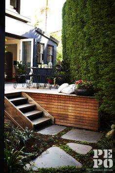 Paddington courtyard landscape design   Eastern Suburbs, Sydney   By Pepo Botanic Design Styled by Adam Robinson Design Photograph by Natalie Hunfalvay