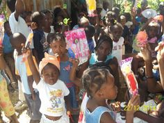 One Mission helped fund 'Christmas for Haiti' in 2014,  The story of Jesus' birth was presented, a meal was prepared, small gifts passed out, and take-home bags of rice were given to all who attended.