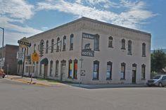 Ward Hotel in Sanders County, Montana.