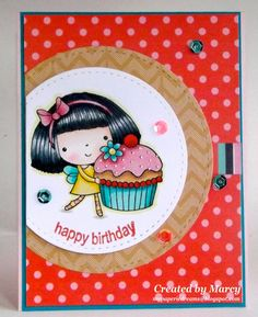 Loves Rubberstamps Blog: Happy Birthday! using Penny Black