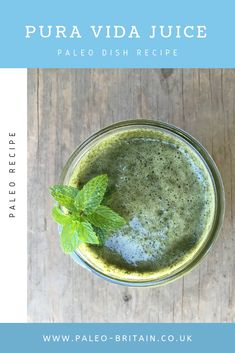 Pura Vida Juice  #Paleo #food # recipe #keto #diet #puravidajuice