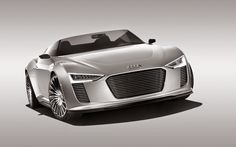 Audi e Tron Spyder Concept 2 Free Wallpaper ~ Auto Cars
