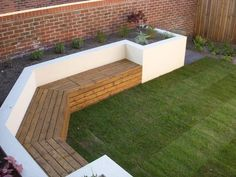 built in seating built in seating The post built in seating appeared first on Gartengestaltung ideen. heating pergola built in seating - Gartengestaltung ideen Backyard Seating, Backyard Patio Designs, Outdoor Benches, Diy Garden Seating, Garden Benches, Bbq Area Garden, Fenced In Backyard Ideas, Wooden Garden Seats, Small Garden Bench