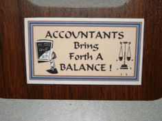 Accountant Refrigerator Magnet Business Card Size by Kats3meows, $4.99
