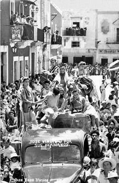 Carro alegorico en San Juan de los Lagos Jalisco Mexico 4