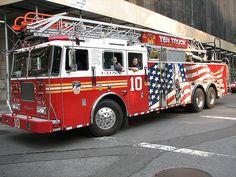 FDNY Ten Truck by ultraclay!, via Flickr  shared by nyfirestore.com