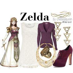 """""""Zelda - The Legend of Zelda"""" by chelsealauren10 on Polyvore"""