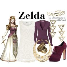 """Zelda - The Legend of Zelda"" by chelsealauren10 on Polyvore"