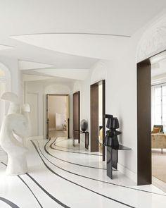 Luxury Interior, Modern Interior, Interior Architecture, Interior And Exterior, Interior Design, H Design, Floor Design, Tile Design, House Design