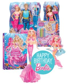 It's Barbie's Birthday! Enter to win a fabulous Barbie prize pack!