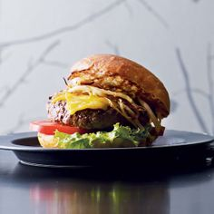Minetta Tavern's namesake burger is made with a blend of beef short rib and brisket from the nearly century-old local purveyor Pat La Frieda.
