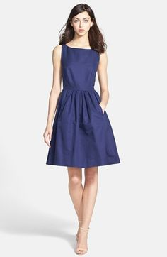 "Love this! kate spade new york ""tanner"" navy dress"