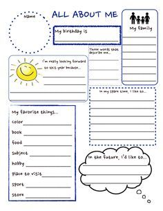All About Me Activities for Kindergarten . 69 All About Me Activities for Kindergarten . Free Literacy Worksheets for Kindergarten New Collection Free School Worksheets, Kindergarten Worksheets, Worksheets For Kids, Printable Worksheets, Measurement Worksheets, Teacher Worksheets, Free Printables, All About Me Printable, All About Me Worksheet
