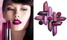 Plum lipstick
