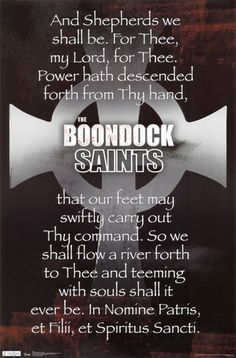 Boondock Saints - Cross Prayer Visit our online store here Boondock Saints Quotes, The Boondock Saints, Boondock Saints Tattoo, Movies Showing, Movies And Tv Shows, Boondocks, Spiritus, Saint Quotes, Look Here