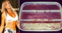 Para quem segue uma dieta rica em proteínas visando o ganho de massa muscular, esta receita de sobremesa maromba feita com Whey Protein é ideal. Livre de açúcares e gordura, a preparação é rica em proteína e mata a vontade de comer doce sem desviar da dieta. O doce foi ensinado pela modelo Juju Salimeni em sua