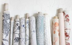 Medium-weight fabrics by Ink & Spindle
