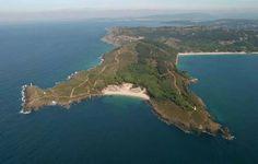 Ria de Vigo. Cabo Home. Playa de Melide