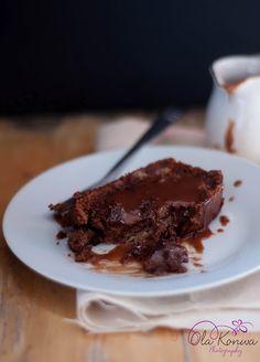 chocolate - banana cake