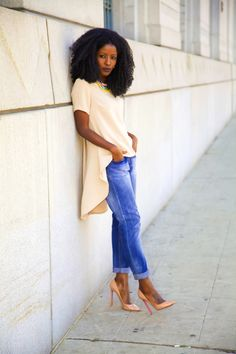 Baby Doll Blouse + Boyfriend Jeans - Style Pantry - Your fashion, culture and lifestyle stockist