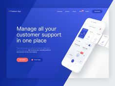 Do you remember a mobile app that allows you to control your budgets made by Kamil? I'd like to present you sneak peak of the landing page for the same project. Let us know what you think and if yo...
