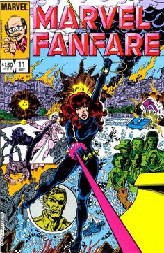 Marvel Fanfare n°11 (1983). Cover by George Pérez.