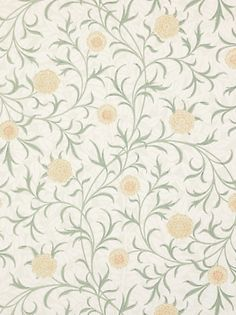 I would put this in my guest bedroom. Its a William Morris wallpaper.