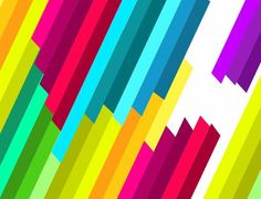 Colorful Patterns | Name: Colorful Diagonal Stripe Vector Pattern