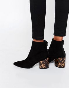 ASOS   ASOS REACH Pointed Ankle Boots