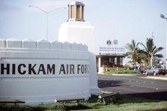 Hickam AFB, Honolulu, Hawaii Uss Arizona Memorial, Military Brat, Cliff Diving, Air Force Bases, Honolulu Hawaii, Before Us, South Pacific, Our World, Natural Wonders