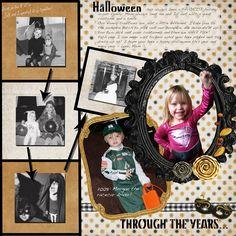 Halloween Through the Years - Scrapbook.com